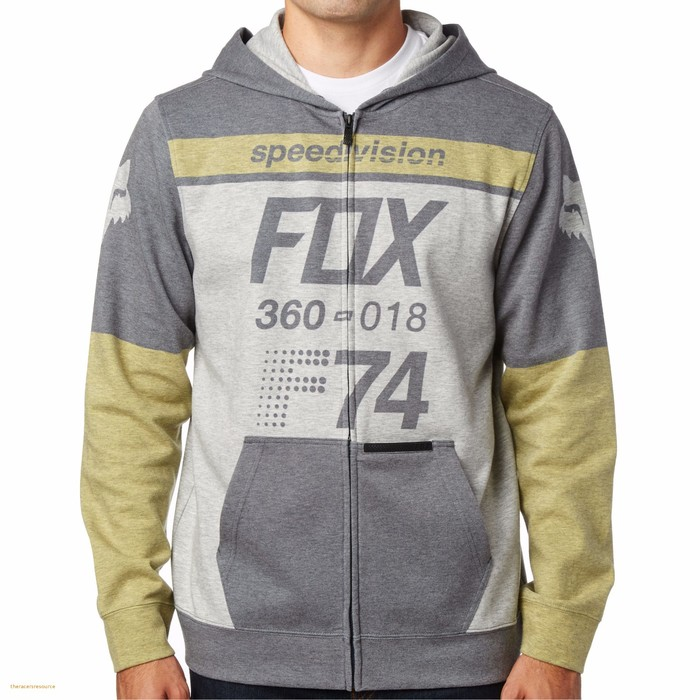 Толстовка Fox Draftr Zip Fleece Midnight, L