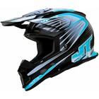 Шлем кроссовый JT Racing ALS 1.0 black/blue, М