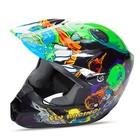 Шлем подростковый кроссовый YOUTH FLY KINETIC INVAZION Green/Black, S