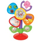 Развивающая игрушка  на присоске «Цветок» на русском языке Kiddieland