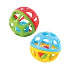 Развивающая игрушка «Мяч-погремушка» 10 см Playgo