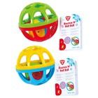Развивающая игрушка «Мяч-погремушка» МИКС Playgo