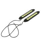 Дневные ходовые огни TORSO 36 LED, 12 В, 180 мм, гибкий резиновый корпус, 2 шт, свет белый