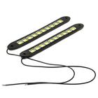 Дневные ходовые огни TORSO 40 LED, 12 В, 260 мм, гибкий резиновый корпус, 2 шт, свет белый
