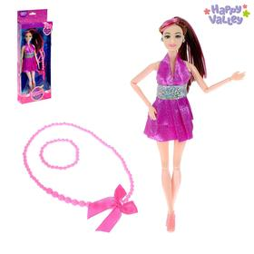 Кукла-модель «Лина: Королева диско» шарнирная, в наборе аксессуары для девочки