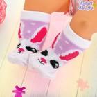 Повязка и носочки для пупса «Зайка» - фото 105513809