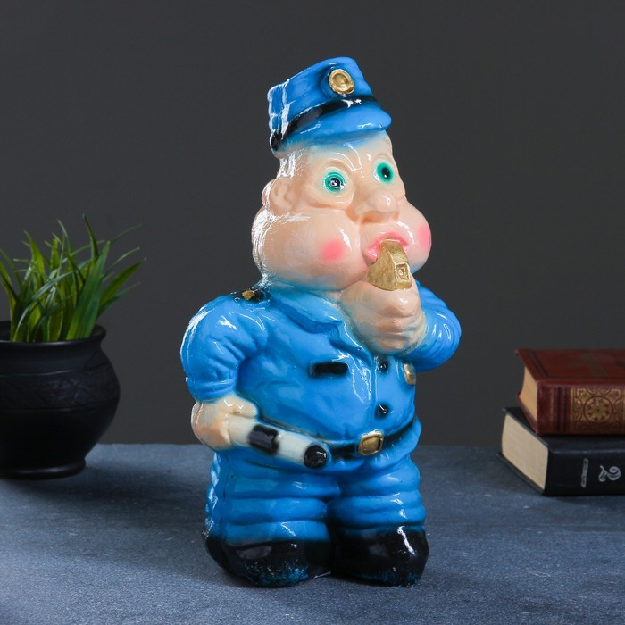 "Копилка ""Полицейский со свистком"", 31х14 см"