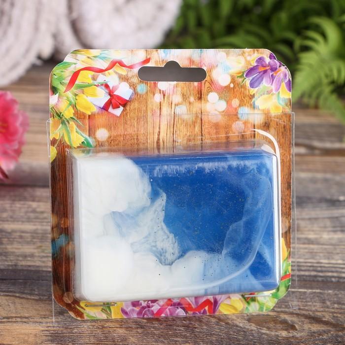 """Натуральное мыло с голубой глиной, """"Добропаровъ"""", 100гр"""