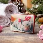 новогоднее мыло для бани