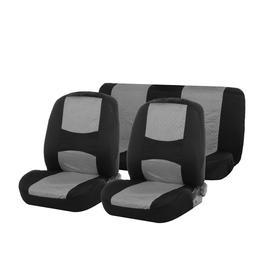 Авточехлы на сиденья TORSO Premium универсальные, 4 предмета, чёрно-серый AV-2