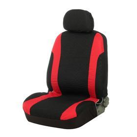 Seat covers seat TORSO Premium universal 9 items black-and-red AV-17
