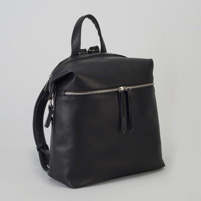 Рюкзак, отдел на молнии, цвет чёрный