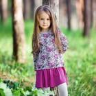 Платье 'Клюква', рост 134 см