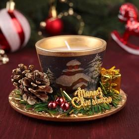 """Свеча подарочная """"Merry Christmas"""""""