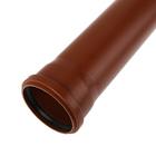 Труба канализационная SK-plast, наружная, d=110, 1000 мм