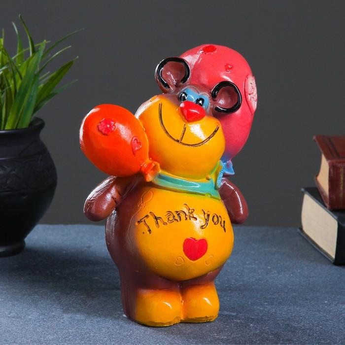 "Копилка ""Мишка с шариками"" 17х14см, МИКС"