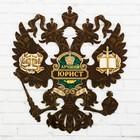 """Герб настенный """"Лучший юрист"""", 22,5 × 25 см"""