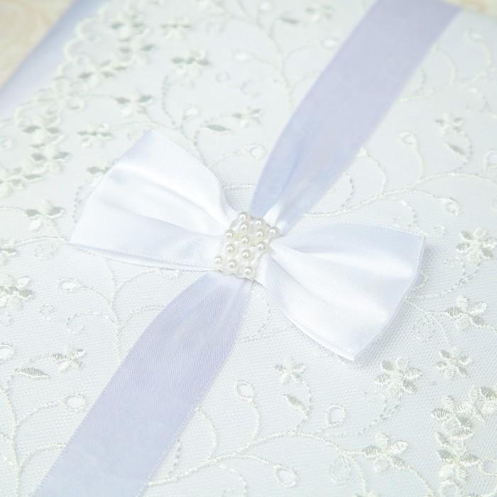"""Папка для свидетельства о заключении брака """"Свадебная"""", ручной работы - фото 415603082"""