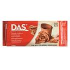 Глина натуральная для лепки терракота 500г DAS (можно запекать) 38710