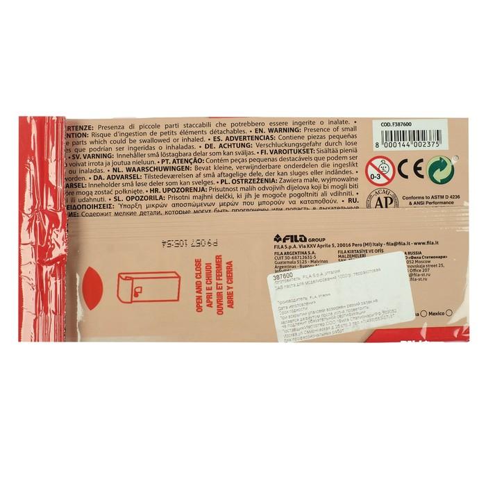 Глина натуральная для лепки, терракота, DAS (можно запекать), 1000 г