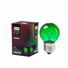 Incandescent Lighthing Luazon E27, 40W, belt, light, green, 220V