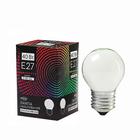 Лампа накаливания Luazon Lighthing E27, 40W, для белт лайта, белая, 220 В