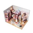 """Интерьерный домик - миниатюра, своими руками """"Комната для милашек"""" со светом"""
