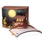 """Интерьерный домик - миниатюра, своими руками """"Лунная ночь"""""""
