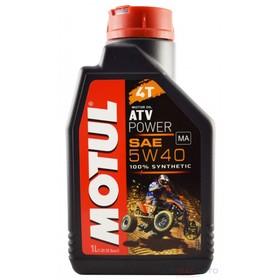 Масло моторное Motul ATV POWER 4T 5W40, 1 л