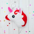 "Soft toy-keychain ""one unicorn's"" color MIX"