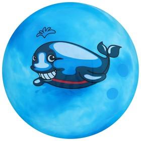 Мяч детский «Дельфинчики», d=25 см, 60 г, цвет синий
