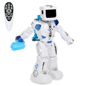 Робот радиоуправляемый, интерактивный «Эпсилон-ТИ», световые и звуковые эффекты, ходит, функция гидроаккумулятора
