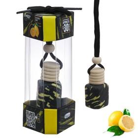 Ароматизатор в авто «Искрящийся лимон», 5 × 2.5
