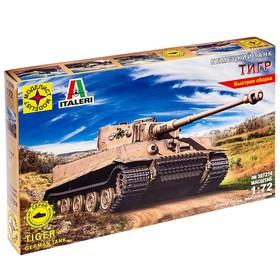 Сборная модель «Танк немецкий Тигр» (1:72)
