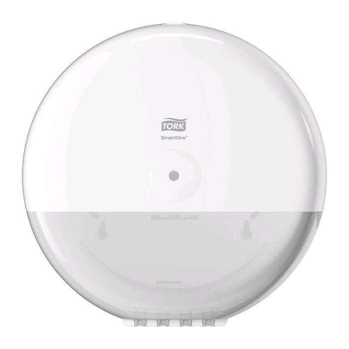 Диспенсер Tork SmartOne для туалетной бумаги в рулонах, цвет белый - фото 3784591