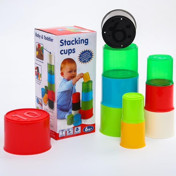 Развивающая игрушка «Стаканчики»