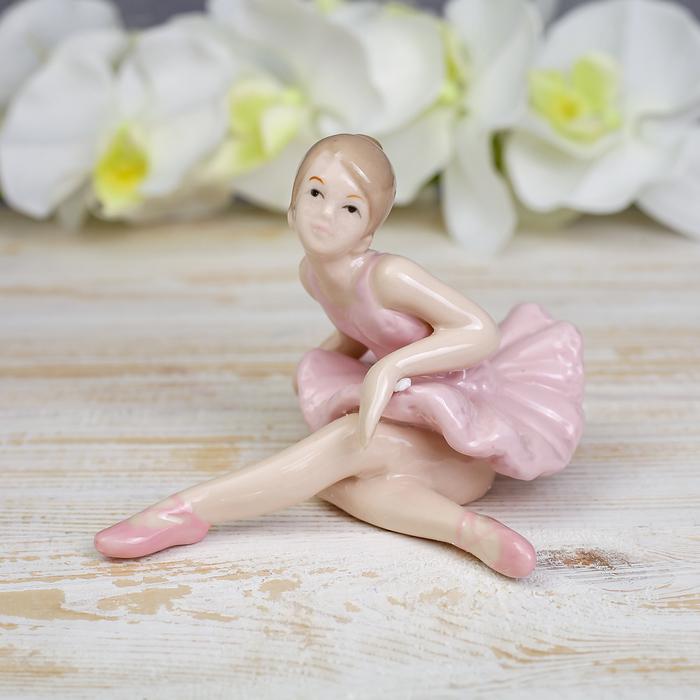 "Сувенир фарфор ""Балерина"" 10,5х15см - фото 366863719"