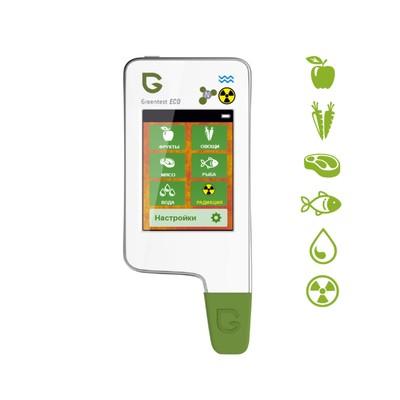 Нитрат-тестер, измеритель жёсткости воды, дозиметр Greentest ECO 5