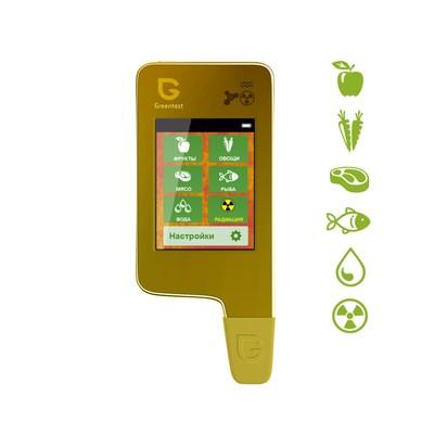 Нитрат-тестер, измеритель жёсткости воды, дозиметр Greentest ECO 5 Gold