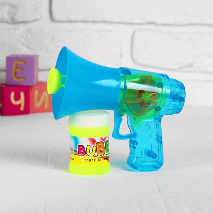 Мыльные пузыри - пистолет «Грамофон», МИКС, 40 мл