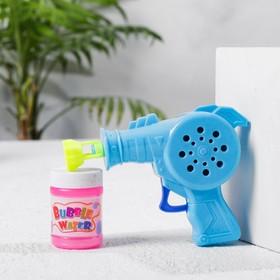 Мыльные пузыри «Пистолет», МИКС, 40 мл