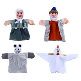 Кукольный театр «Курочка Ряба», 4 куклы