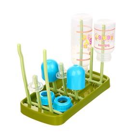 Сушилка для детских бутылочек, цвет зелёный