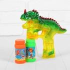 """Генератор мыльных пузырей """"Тиранозавр"""", 45 мл * 2 шт."""