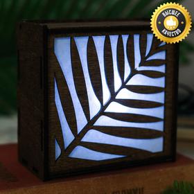 """Lamp wooden """"Tropics"""""""