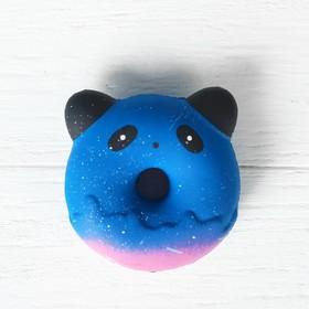 Мялка-сквиши «Пончик», с ушками, цвета МИКС