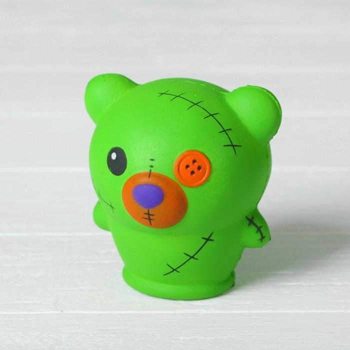 Мялка-сквиши «Мишка», цвета МИКС