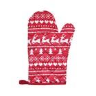Прихватка-рукавица «Новогоднее чудо», размер 18 × 27 см