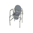 Кресло-туалет 10583 с регулировкой высоты, откидные поручни, макс. нагрузка 115 кг