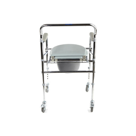 Кресло-туалет WC Mobail, с санитарным оснащением, с колёсами Ош
